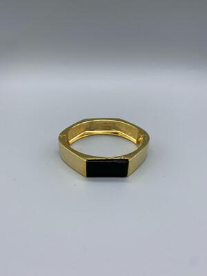 Gold And Black Bangle
