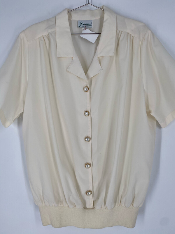 Joanna Vintage Button Up Pull Over Size XL