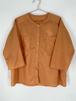 Burnt Orange Long Sleeve Button Up Size XL