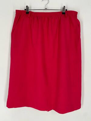 "Cape Cod Sportswear Elastic Waist Skirt Size 35"""