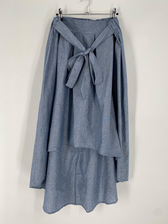 Haute Mess Blue Vintage Skirt Size 1X