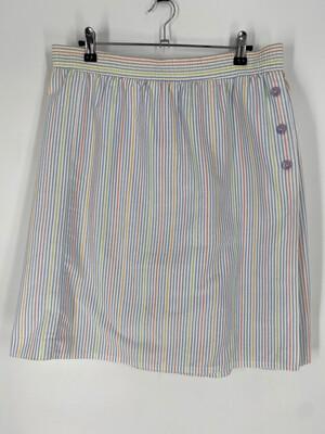 Cricket Lane Vintage Striped Skort Size 14