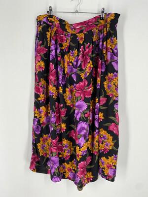 Studio C Floral Maxi Skirt Size 22