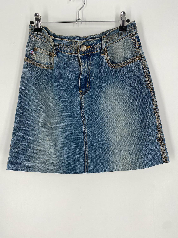 Apollo Jeans Vintage Denim Skirt Size XL