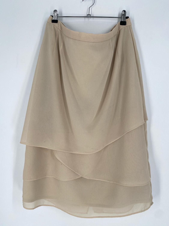 Draper's & Damon's Beige Vintage Skirt Size 16