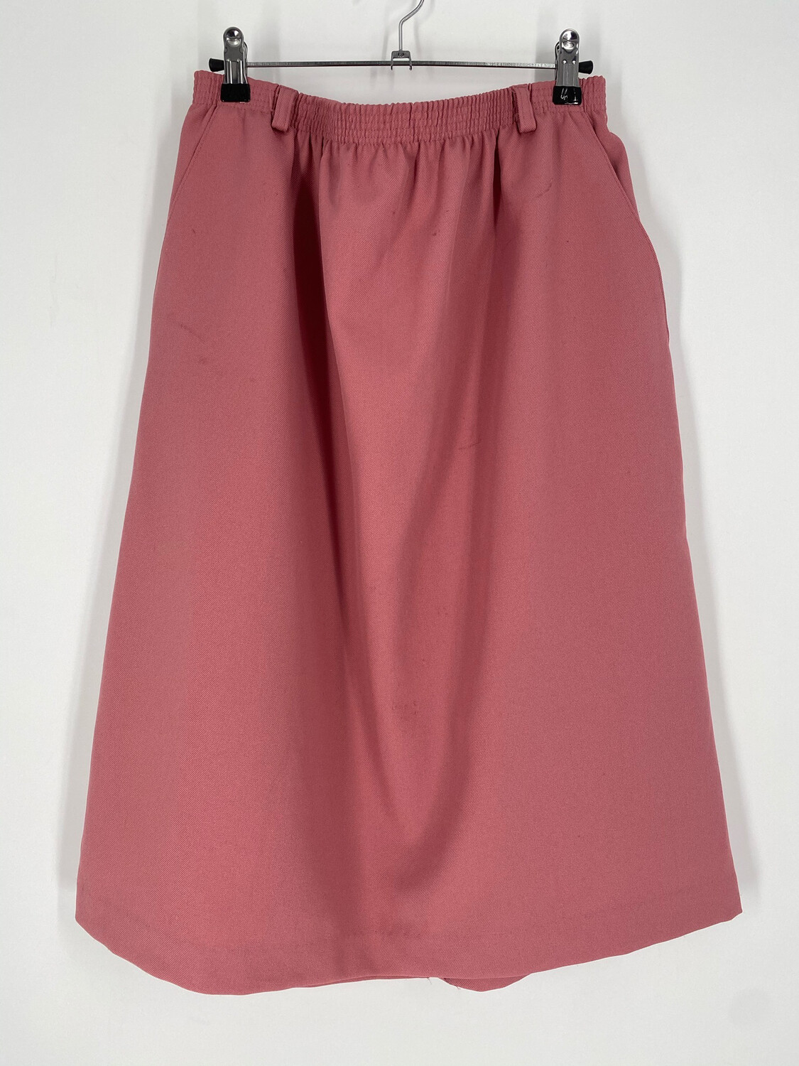 Classic Collection Vintage Pink Elastic Waist Skirt Size 18