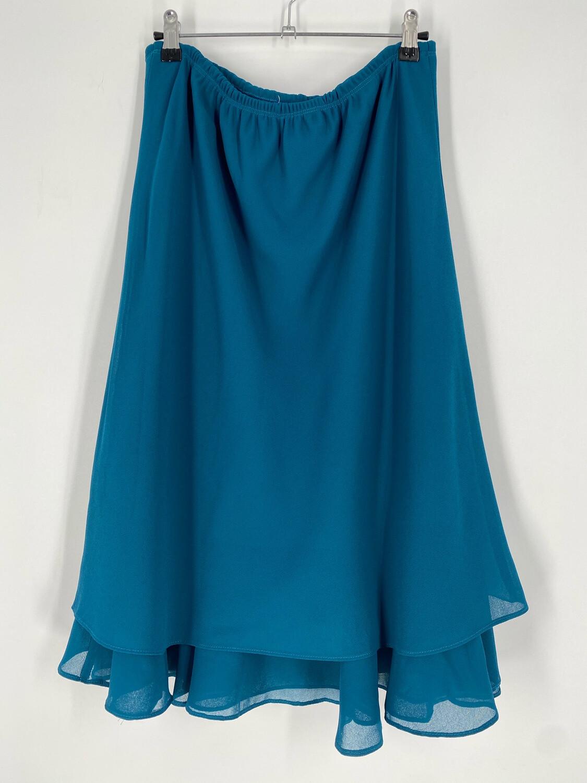 Vintage Teal Skirt Size XL