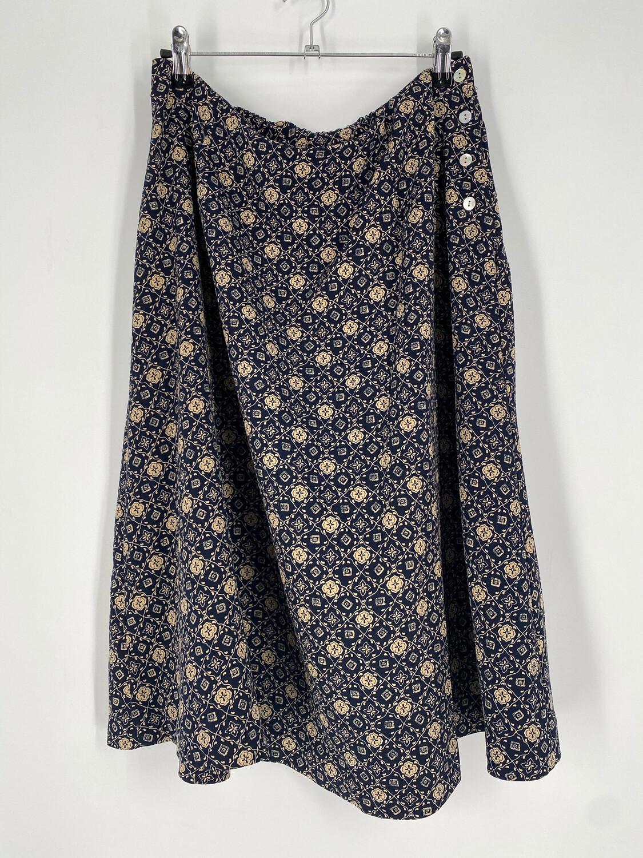 Worthington Patterned Vintage Skirt Size 16