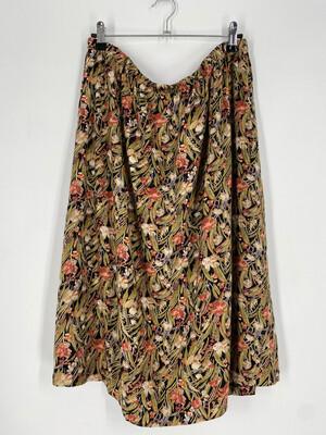 Vintage Floral Skirt Size 20