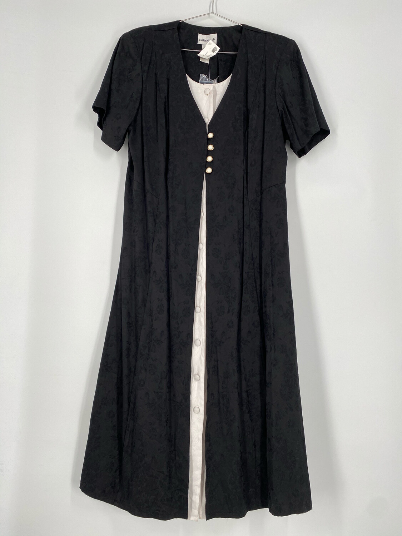 Fashion Bug Multi Layer Short Sleeve Dress Size 18W