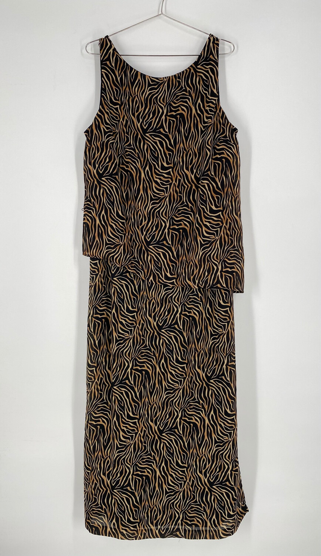 J.B.S. Ltd Animal Print Dress Size 16