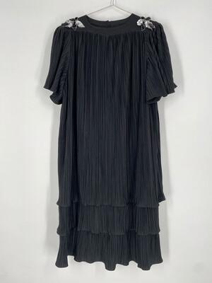Risa Ann New York Vintage Black Dress Size 18.5