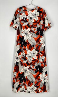 Royal Hawaiian Floral Maxi Dress Size 2X