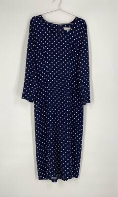 Jonathan Martin Polka Dot Long Sleeve Dress Size 13/14