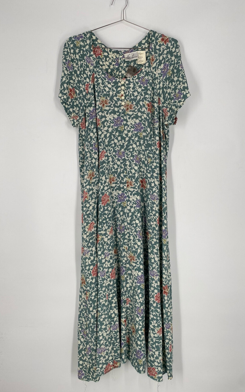 Kithie Lee Floral Maxi Dress Size 14
