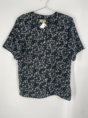 Josephine Floral Button Up Top Size 13/14