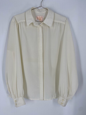 Country Sophisticates By Pendleton Long Sleeve White Button Up Top Size 15