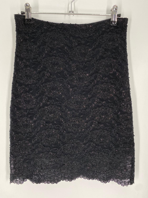 "Star City Clothing Company Black Sparkle Mini 26""W"