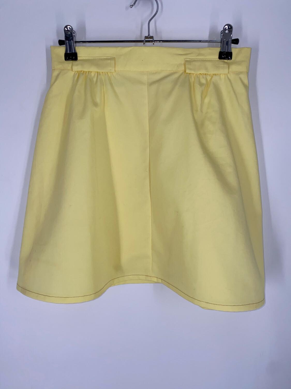 Hunter's Glen Yellow Mini Skirt Size S