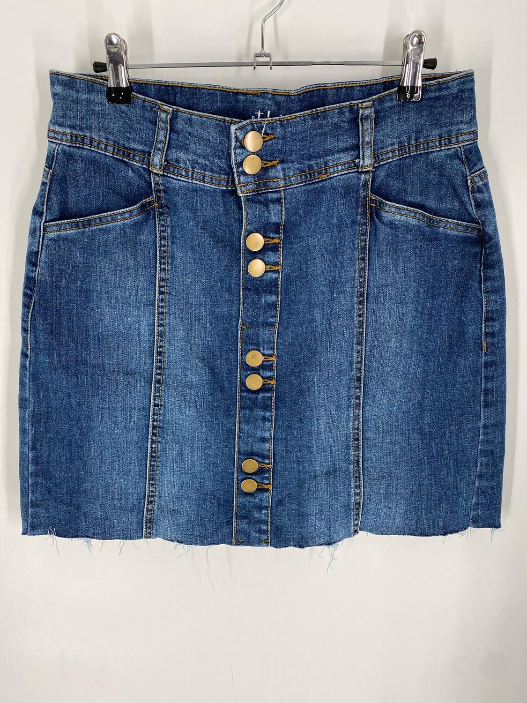 "Style & Co Denim Skirt 30""W"