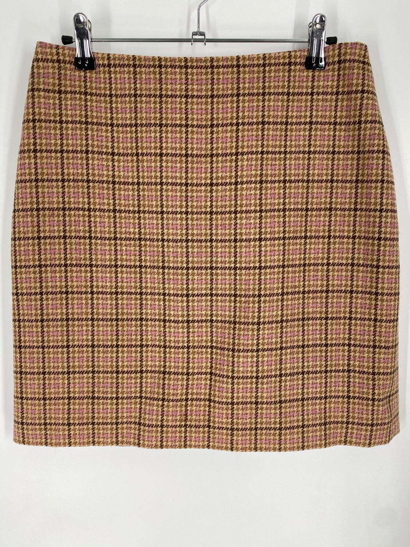 """Ann Taylor Plaid Skirt 29""""W"""