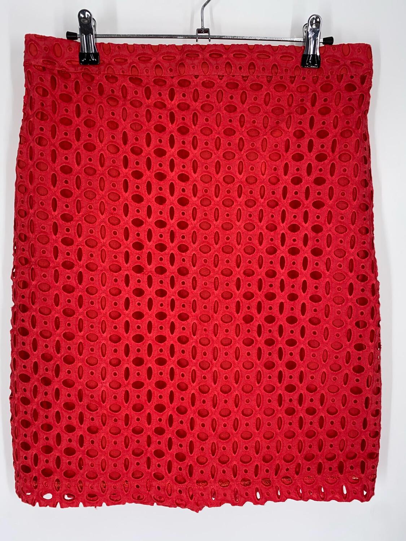 Kenar Red Mini Skirt 30