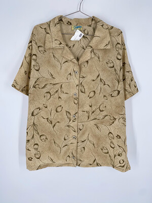 Josephine Button Up Top Size L