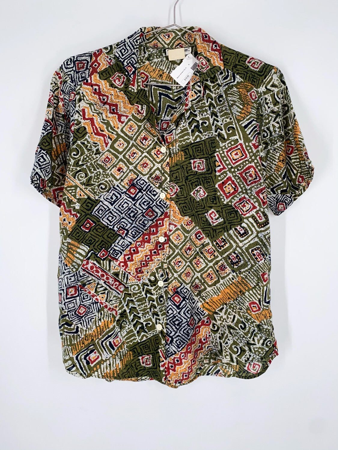 Booth Bay Button Up Top Size M