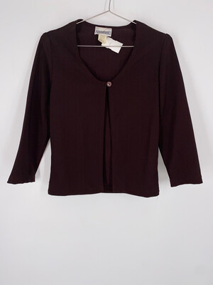 Appointments Tie-front Top Size L