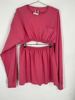 Reworked Comfort Colors Long Sleeve Set O/S