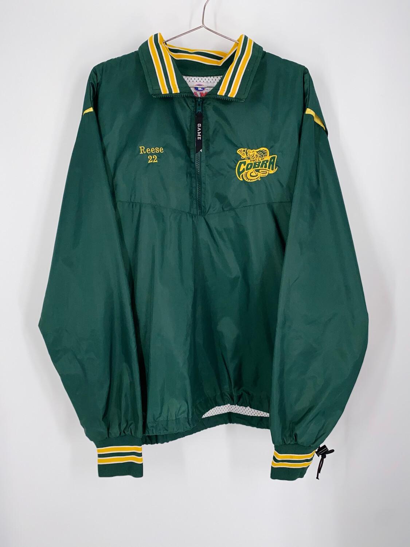 Game Sportswear Quarter Zip Windbreaker Size S