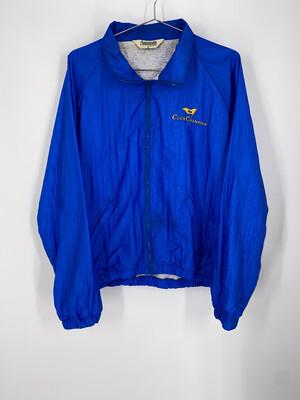 Augusta Embroidered Windbreaker Jacket Size M