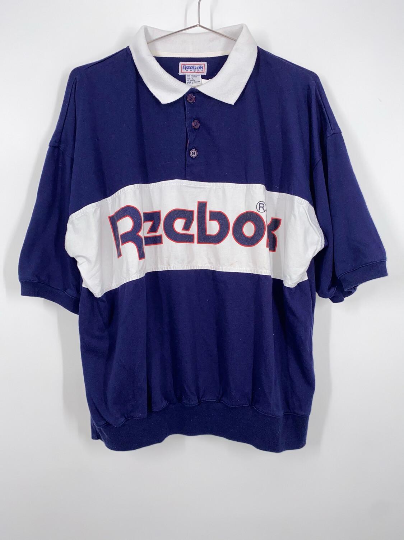 Reebok Sport Polo Top Size L