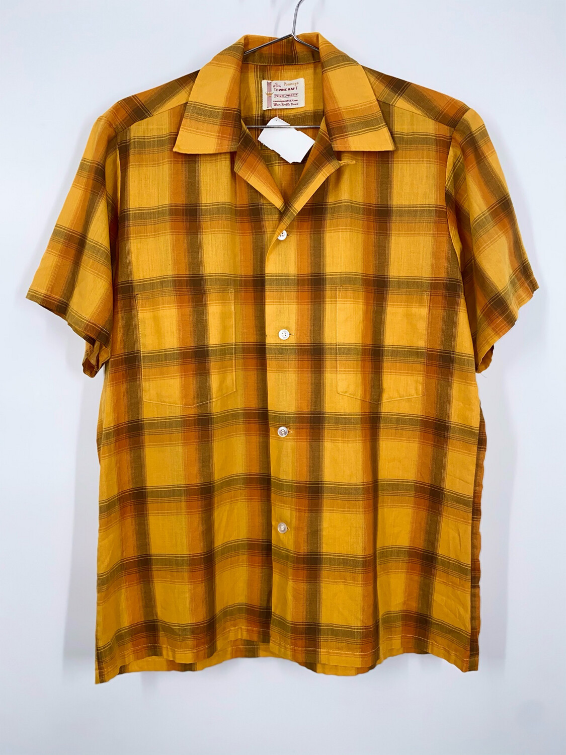 Penneys Towncraft Button Up Size S