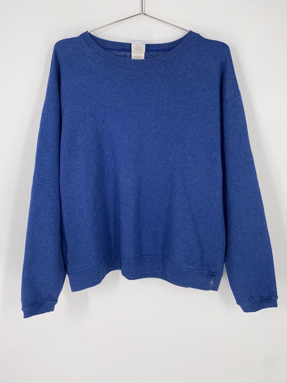Hanes Blue Crewneck Size L