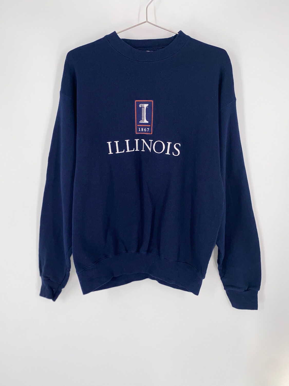 Oarsman Illinois Crewneck Size M