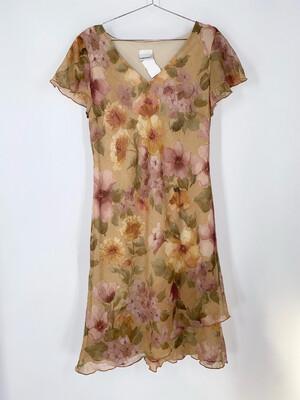 Fashion Bug Floral Dress Size M
