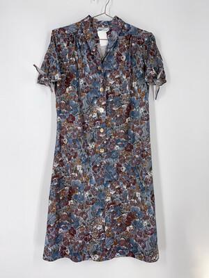 Colorama Originals Floral Button Up Dress Size S