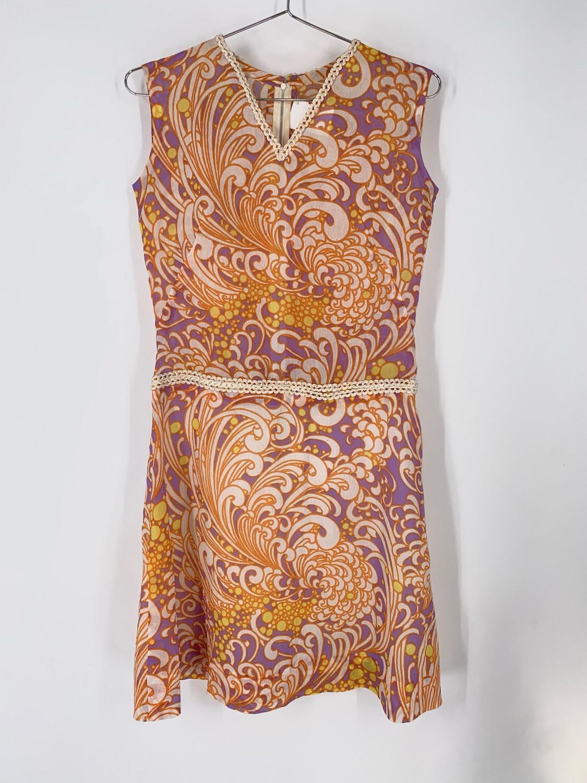 Semi-sheer Sleeveless Dress Size M