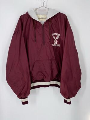 DeLong Sportswear Quarter Zip Lacrosse Jacket Size XL