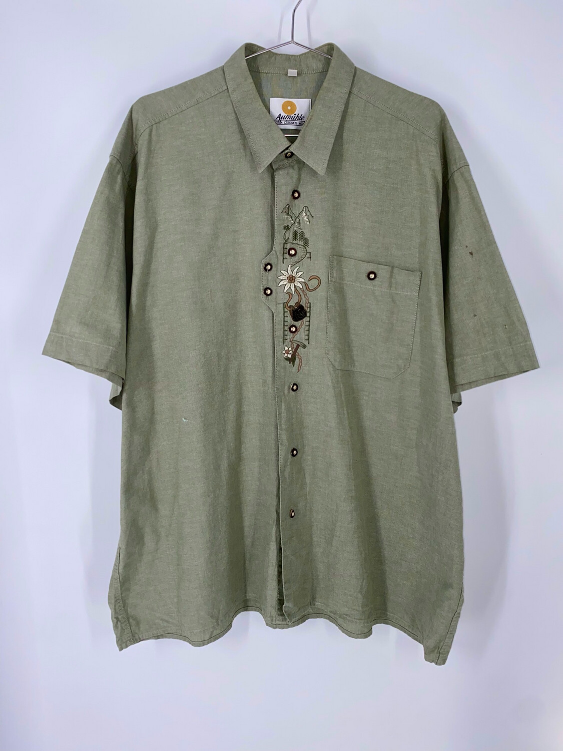 Aumühle Embroidered Button Up Size XXL