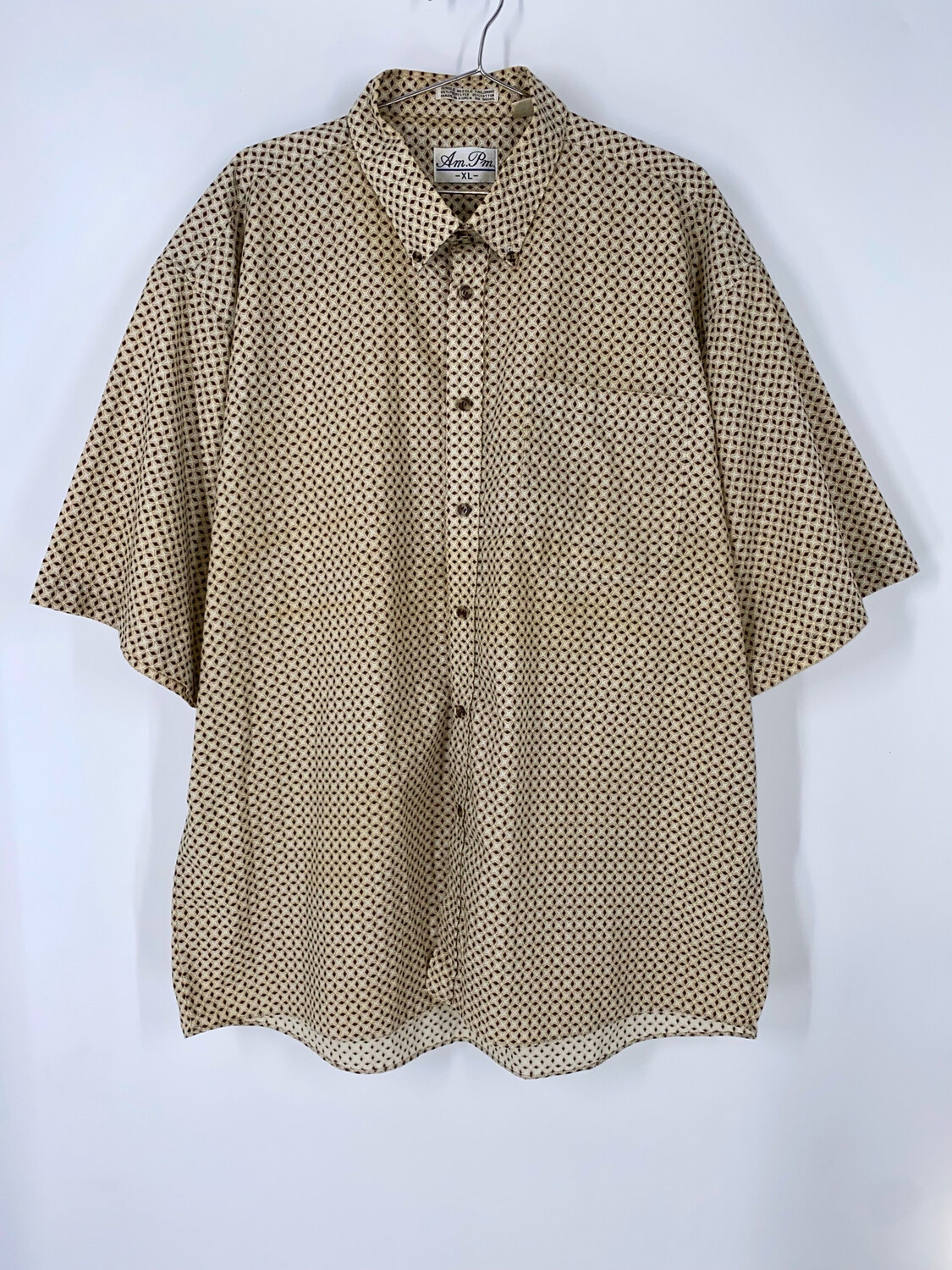 Am.Pm. Patterned Button Down Size XL