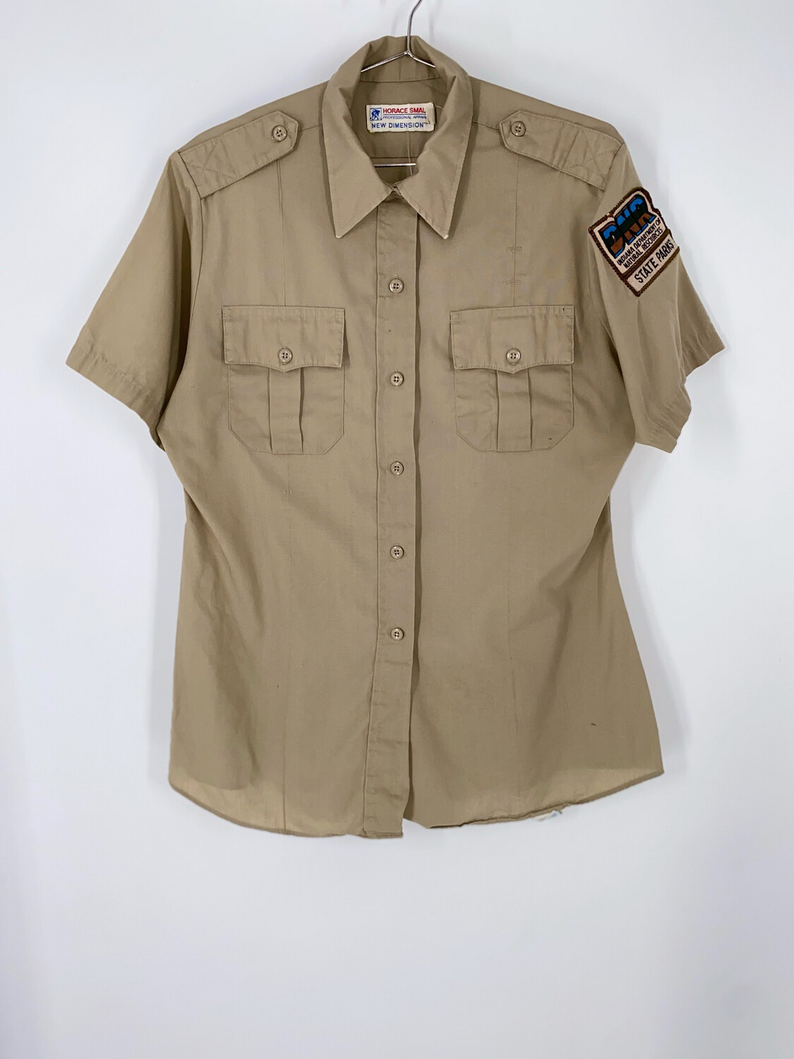 Horace Small Indiana State Park Button Up Size M