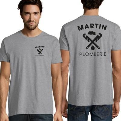 Tee-shirt logotés 1 couleur