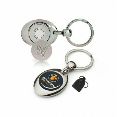 Portes-clés jeton caddy