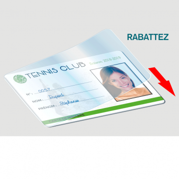 Carte d'identification membre