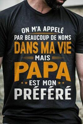 Tee-shirt NOIR Coton personnalisés