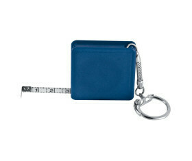 Mètre ruban en acier, avec porte clés
