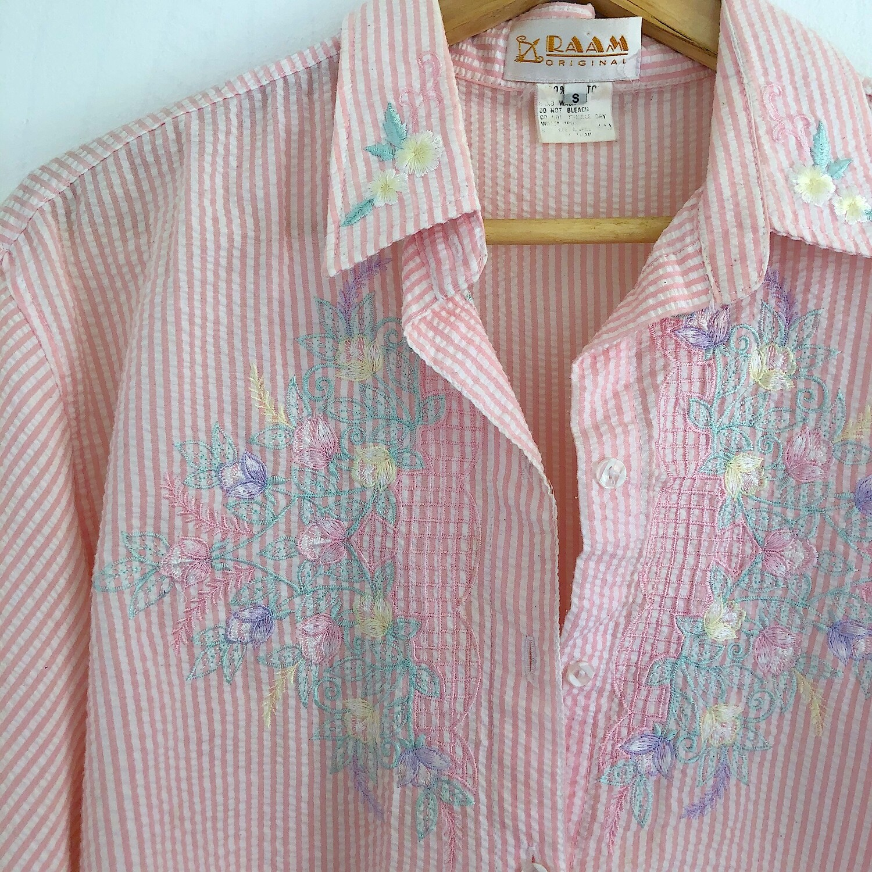 Vintage Embroidered Shirt