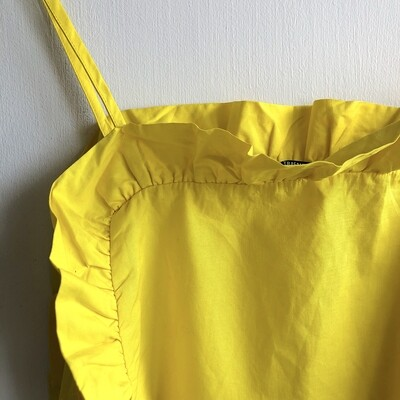 Zara Yellow Crop 17'